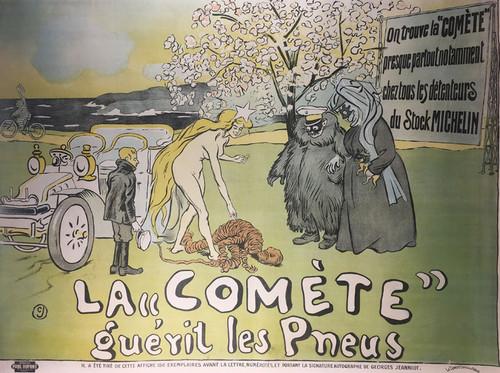 La 'Comète guèrit les pneus