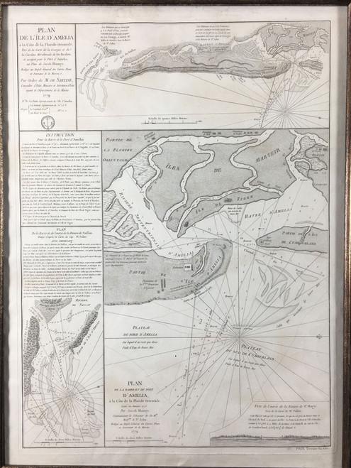 Plan de L'Ile D'Amelia