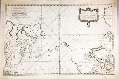 Carte Reduite De L'Ocean Septentrional