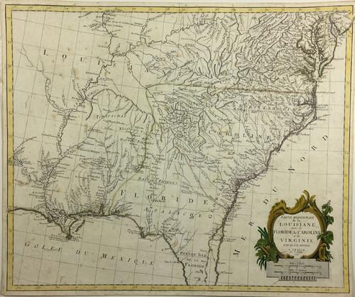 Partie Meridionale de la Louisiane…La Virginie