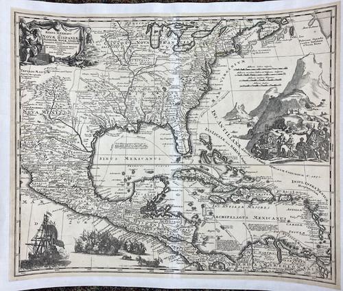 Regni Mexicani Seu Novae Hispaniae…Septentrionali