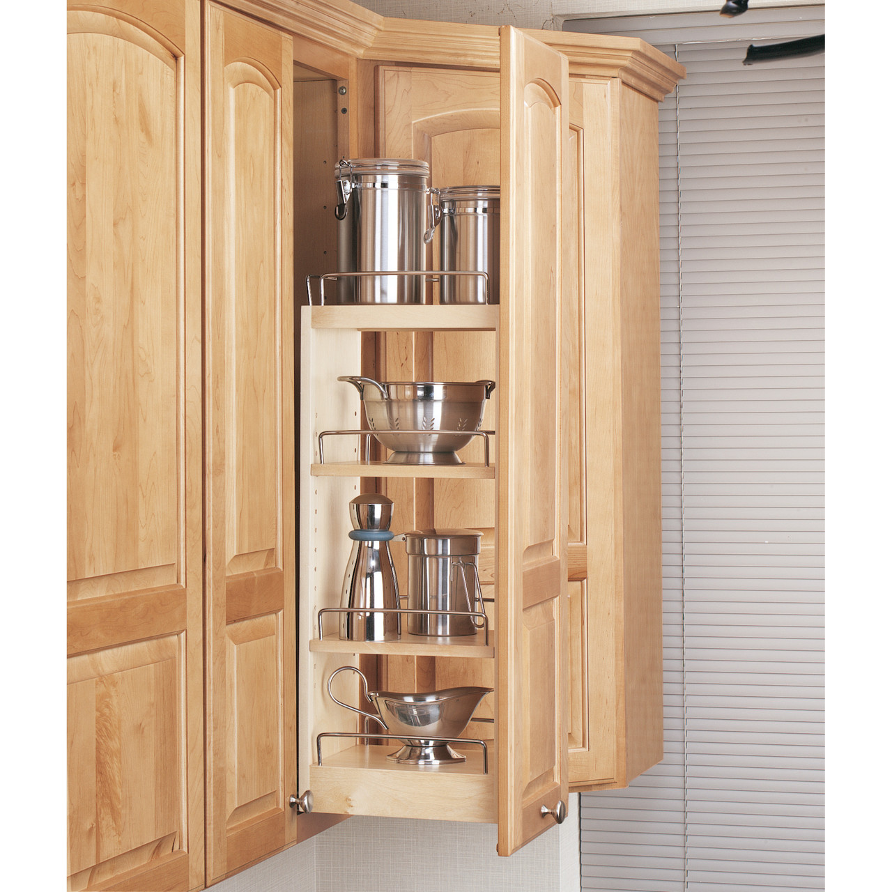 Wall Cabinet Pullouts