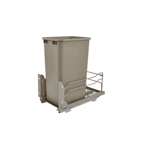 50 Qrt Pull-Out Waste Container Soft-Close