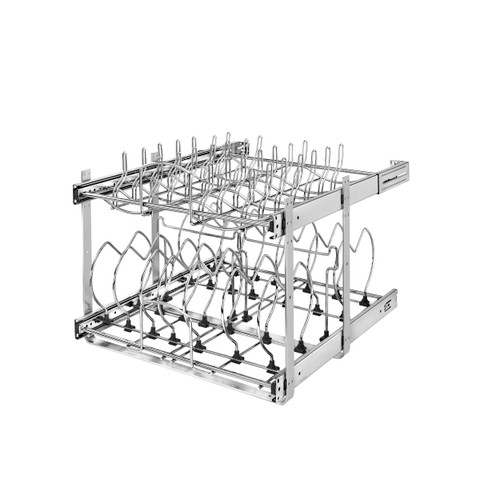 21 in Two-Tier Cookware Organizer