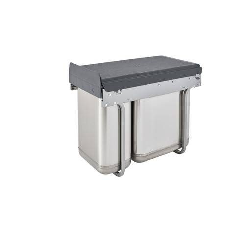 Rev-A-Shelf 8-785-30-2SS Pull-Out Under-Sink Waste Containers