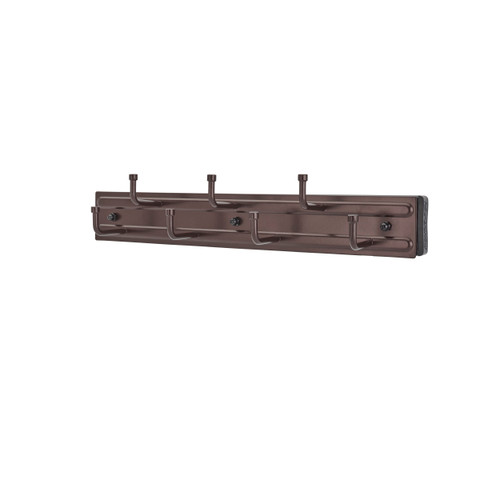 12 inOil Rubbed Bronze Pullout Belt Rack