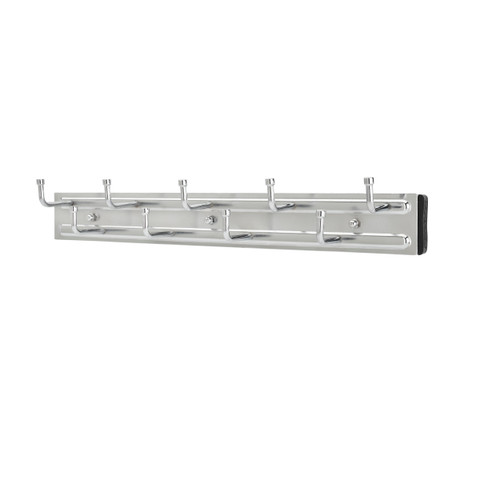14 in Chrome Pullout Belt Rack