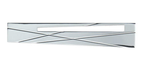 """253R-CH Modernist Right Pull 3"""" Cc Polished Chrome"""