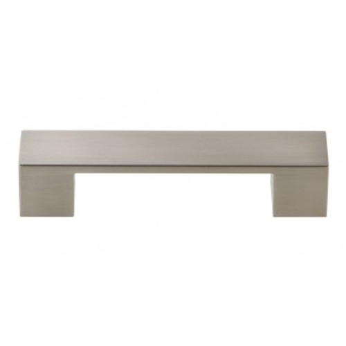A918-BN Wide Square Pull 96mm Cc Brushed Nickel