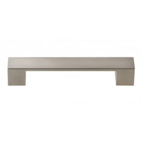 A919-BN Wide Square Pull 128mm Cc Brushed Nickel