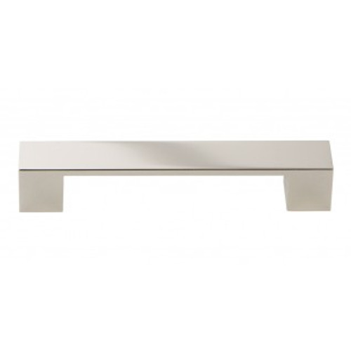 A919-PN Wide Square Pull 128mm Cc Polished Nickel