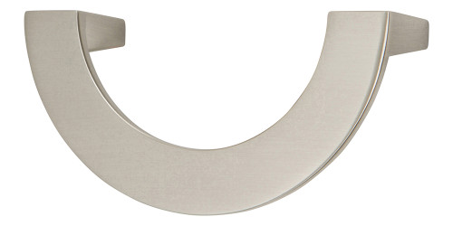"""354-BRN Roundabout Pull 3"""" Cc Brushed Nickel"""