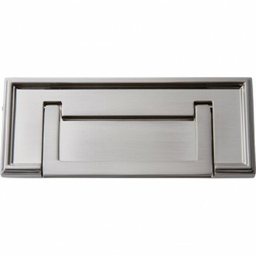 """381-BRN Campaign Rope Drop Pull 3"""" Cc Brushed Nickel"""