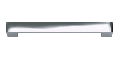 A825-CH Wide Square Pull 192 Mm Cc Polished Chrome