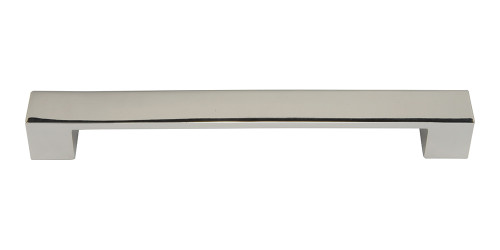 A825-PN Wide Square Pull 192 Mm Cc Polished Nickel