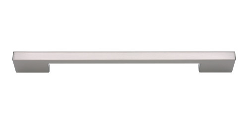 A826-BN Thin Square Pull 192 Mm Cc Brushed Nickel