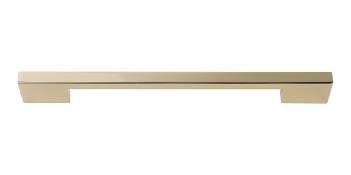 A826-FG Thin Square Pull 192 Mm Cc French Gold