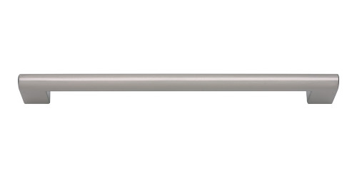 A829-BN Round Rail Pull 192 Mm Brushed Nickel
