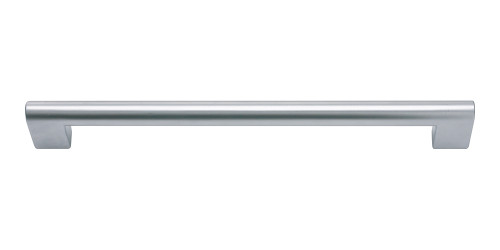 A829-MC Round Rail Pull 192 Mm Matte Chrome