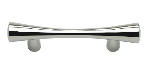 A850-PS Fluted Pull 64 Mm Cc Polished Stainless Steel