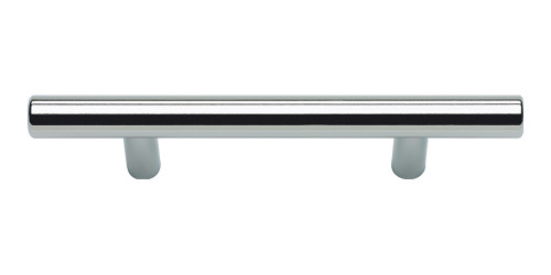 """A837-PS Skinny Linea Pull 3"""" Cc Polished Stainless Steel"""
