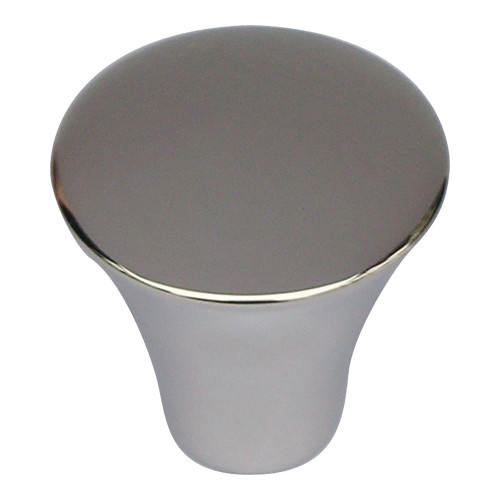 A855-PS Fluted Knob Polished Stainless Steel