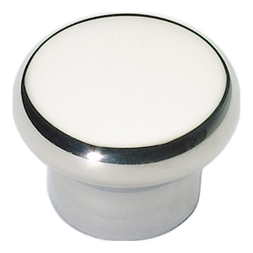 A856-PS Round Knob Polished Stainless Steel