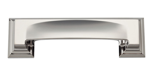339-PN Sutton Place Bin Cup Pull Polished Nickel