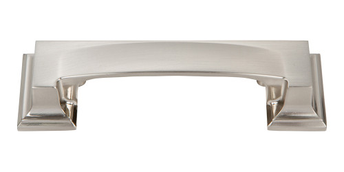 339-BRN Sutton Place Bin Cup Pull Brushed Nickel