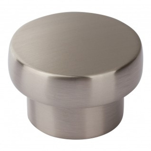 A913-BN Chunky Round Knob Large Brushed Nickel