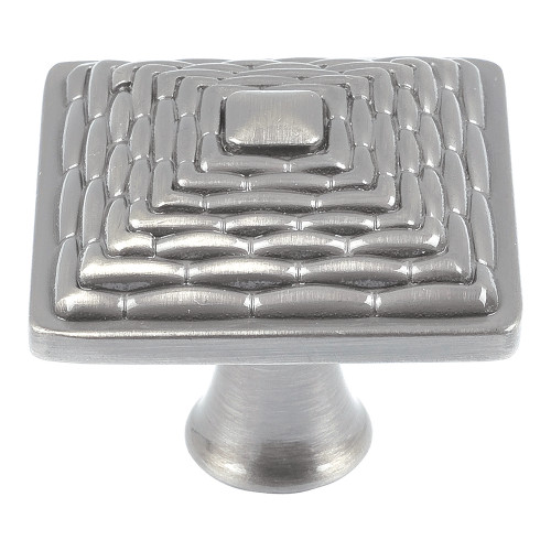 237-BRN Mandalay Square Knob Brushed Nickel