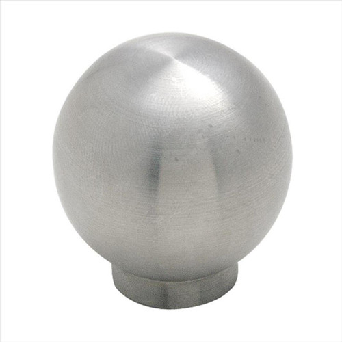 BP19007SS Essential'Z Stainless Steel 1-3/16 in (30 mm) Diameter Stainless Steel Cabinet Knob