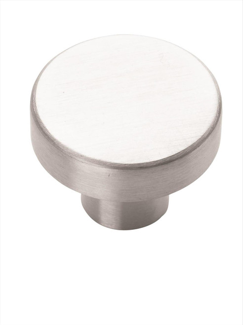 BP26200SS Essential'Z Stainless Steel 1-1/4 in (32 mm) Diameter Stainless Steel Cabinet Knob