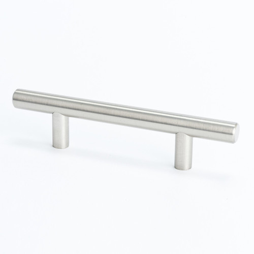 "BN 0800-2BPN-P Pull 3"" CC Tempo Brushed Nickel"