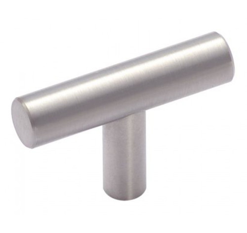 BP19009SS Bar Pull Collection 1-15/16 in (49 mm) LGTH Cabinet Knob - Stainless Steel