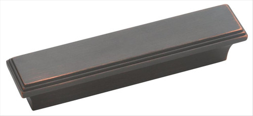 BP26116ORB Manor 3 in (76 mm) Center Cabinet Pull - Oil-Rubbed Bronze