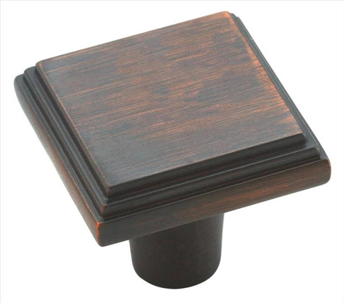 BP26117ORB Manor 1-1/16 in (27 mm) LGTH Cabinet Knob - Oil-Rubbed Bronze