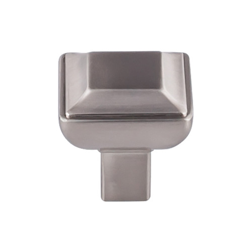 "TK671BSN Podium Knob 1 1/8"" - Brushed Satin Nickel"
