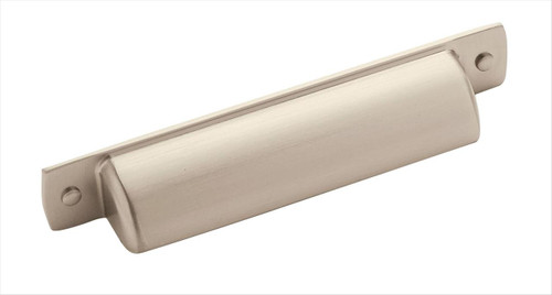 BP53716G10 Rochdale 3-3/4 in (96 mm) Center Cabinet Cup Pull - Satin Nickel