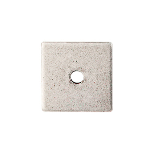 """TK94PTA Square Backplate 1"""" - Pewter Antique"""