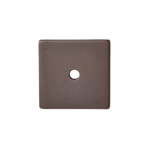 """TK95ORB Square Backplate 1 1/4"""" - Oil Rubbed Bronze"""