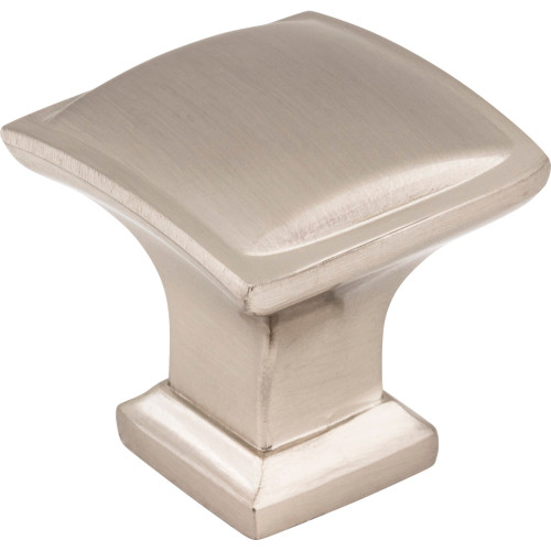 435SN Annadale Square Pillow Top Cabinet Knob Satin Nickel