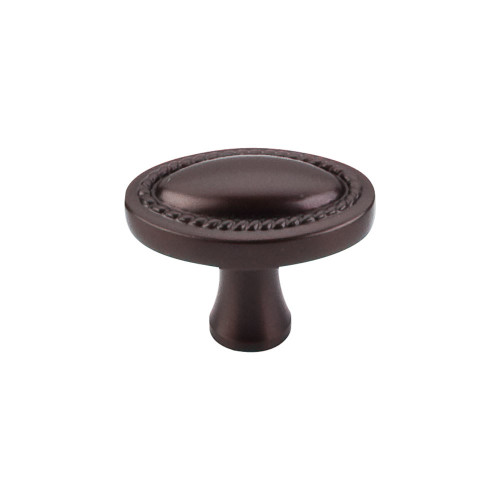"M751 Oval Rope Knob 1 1/4"" - Oil Rubbed Bronze"
