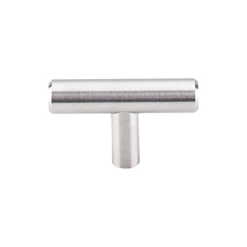 "SS1 Solid T-Handle 2"" - Brushed Stainless Steel"