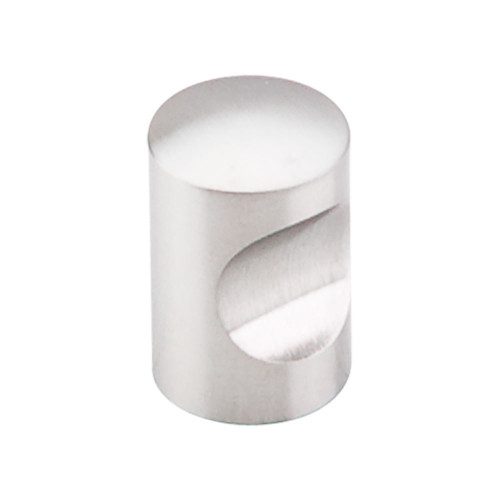 """SS20 Indent Knob 5/8"""" - Brushed Stainless Steel"""