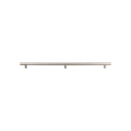 """SSH11 Hollow Bar Pull 3 posts 2x18 1/8"""" (c-c) - Brushed Stainless Steel"""