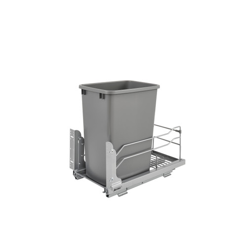 Rev-A-Shelf 53WC-1535SCDM-117 35 Quart Pull-Out Waste Container with Soft-Close