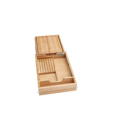 18 in Knife and Cutting Board Drawer Kit Soft Close