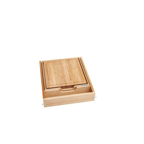 21 in Knife and Cutting Board Drawer Kit Soft Close