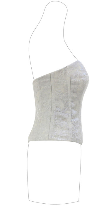 Corsetto Broccato in seta (Valentino Tissues)